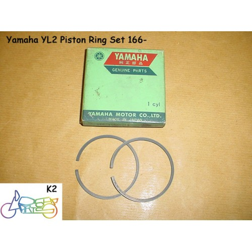 Yamaha YL2 L5T Piston Ring 0.50 - 2nd Over Size Rings Set 166-11601-21 free post