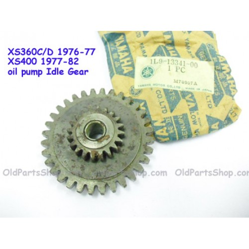 Yamaha XS360 XS400 Oil Pump Idle Gear 1L9-13341-00