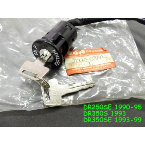 Suzuki DR250 DR350 Main Switch with Keys NOS DR350S Ignition SWITCH 37110-03D01 free post last piece