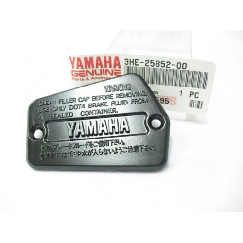 Yamaha RD500 RZ500 Master Pump Cover 3HE-25852-00 Front Cylinder Cap