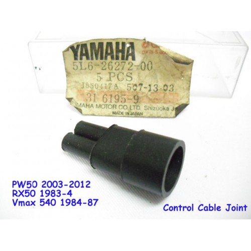 Yamaha PW50 RX50 Throttle Cable Joint NOS VMax540 Snowmobile 5L6-26272-00
