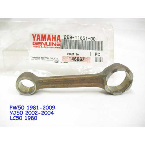 Yamaha PW50 YJ50 LC50 Connecting Rod 2E9-11651-00 CON ROD free post