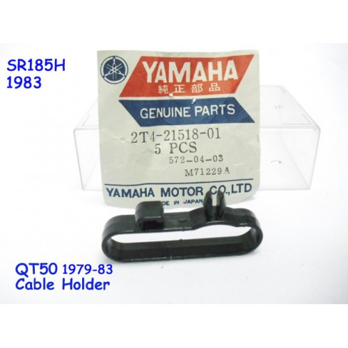 Yamaha QT50 SR185 Front Fender Cable Holder 2T4-21518-00