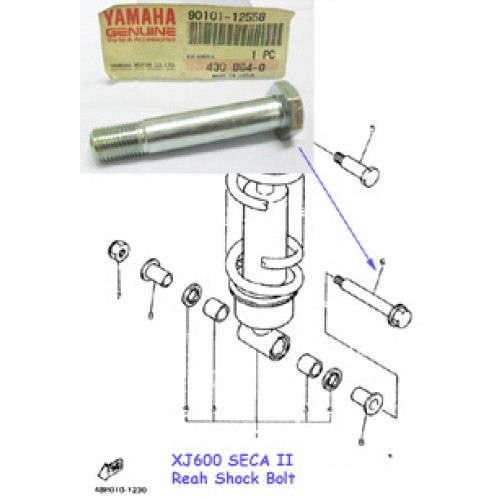 Yamaha XJ600 Rear Shock Bolt